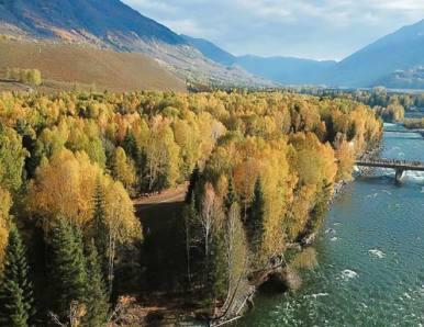 新疆以北,遇见那个秋天的童话世界