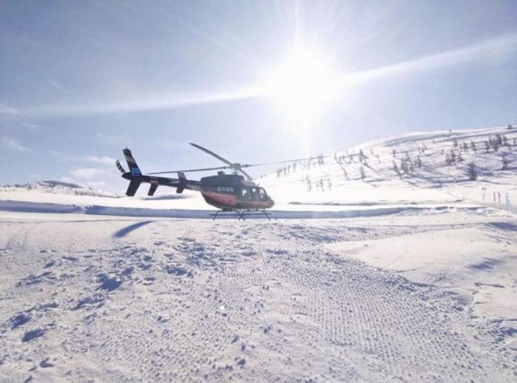 野雪公园直升机2